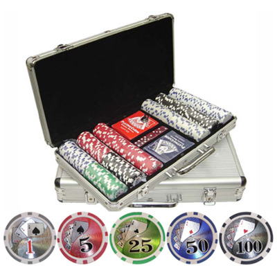 CP114 300 Piece Poker Chip Set