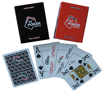 Playing Cards 100% Plastic