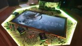 Dungeons & Dragons Heptagon 7-Seater Board Game Table - Steamboat Tables Custom Poker Tables (1)